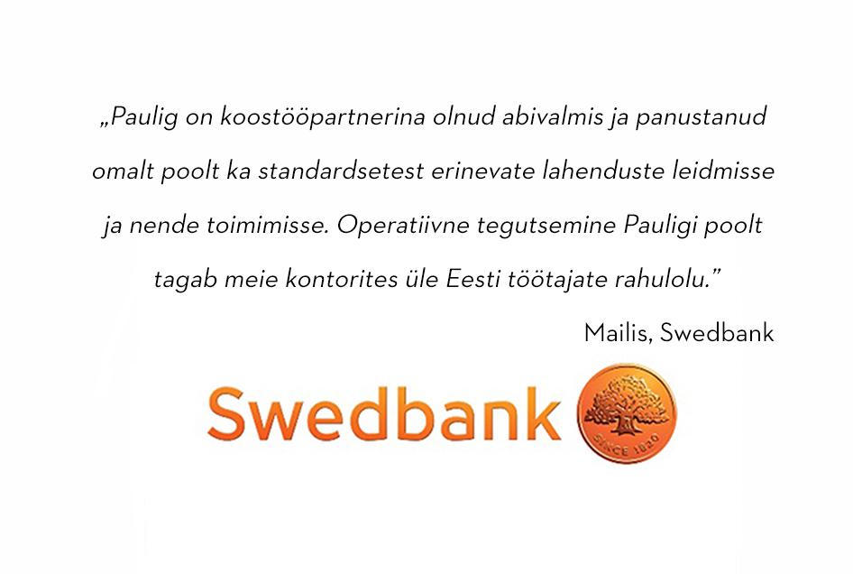 Swedbank referents