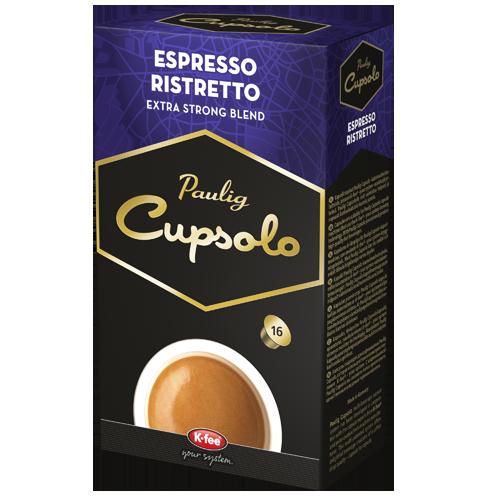 Cupsolo Espresso Ristretto