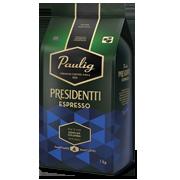 Presidentti Espresso 1kg kohvioad